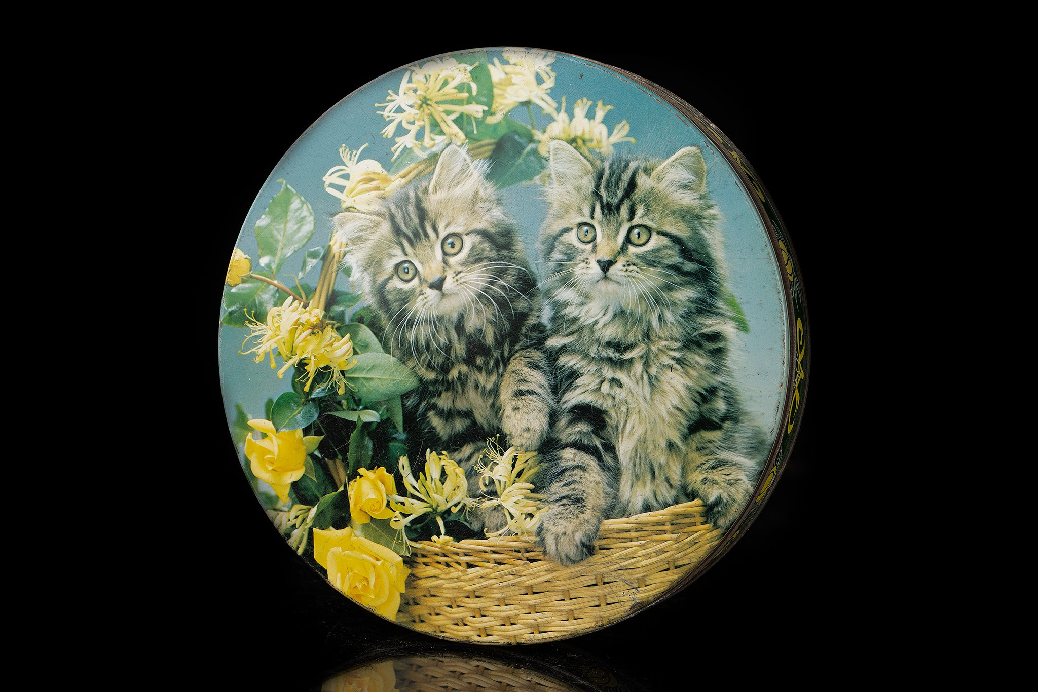 Vintage-tin-cat-duo