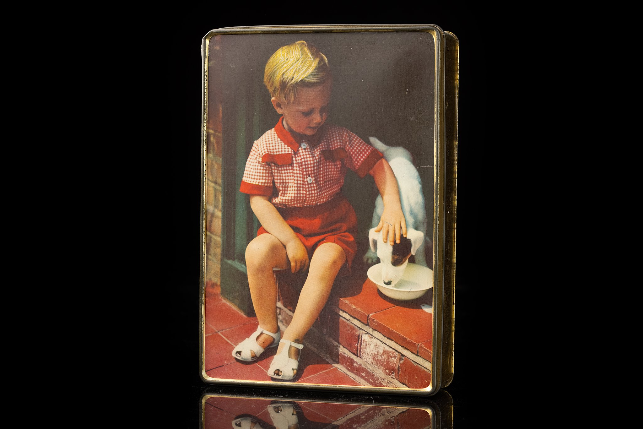 Vintage-tin-dog-box-child-and-jack-russell